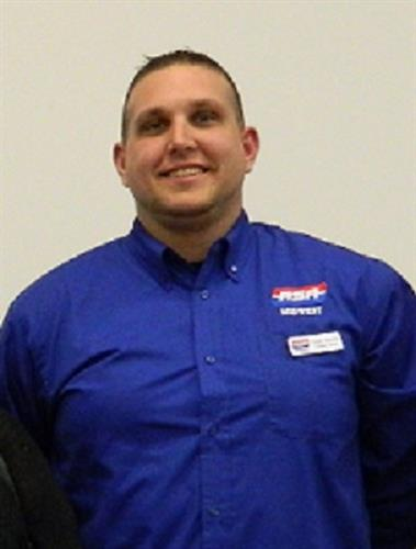Dustin Atwood ASA President of Springfield MO local chapter