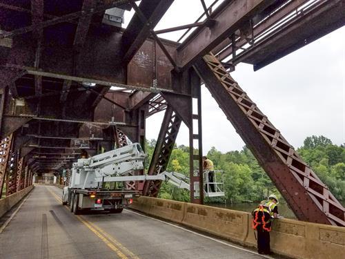 Oliver Bridge Inspection