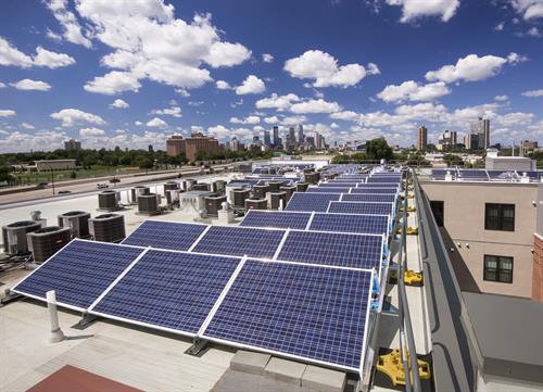 Cooperage Photovoltaic Panels