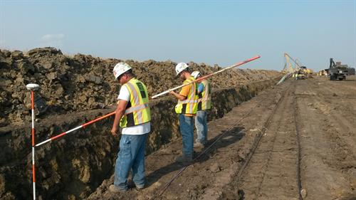 Pipeline Survey Crew