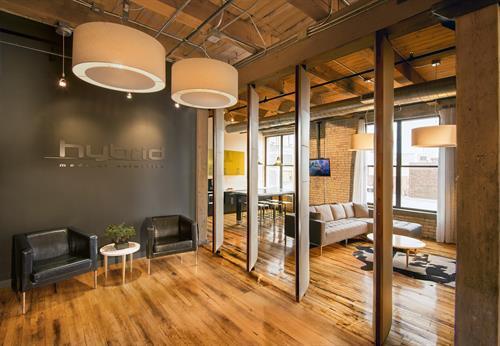 Hybrid Office Remodel