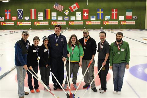 LHB Company Party Curling Champs