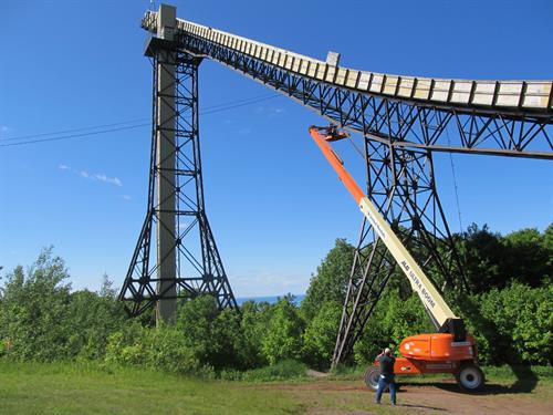 Copper Peak Structural Inspection (This Was the First Ski Jump Designed by LHB's Founder Lauren Larsen)