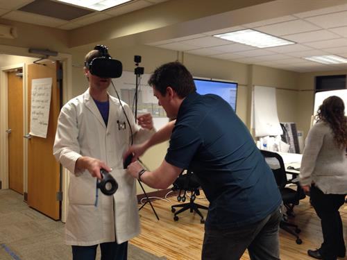 Using Virtual Reality to Help Design Essentia Health's Vision Northland