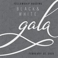 Fellowship Housing Black & White Gala Sponsorship Opportunity