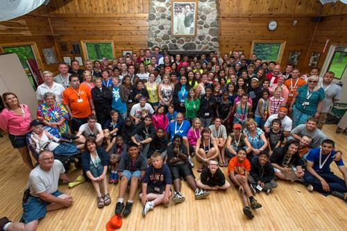 "Camp ""I Am Me"" - Illinois' camp for young burn survivors"