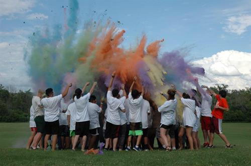 "Camp ""I Am Me"" activity - Color Wars!"