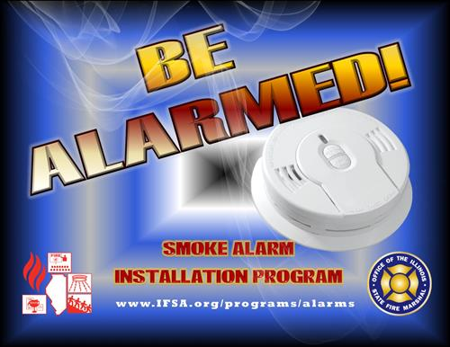 Be Alarmed! Smoke Alarm Installation Program