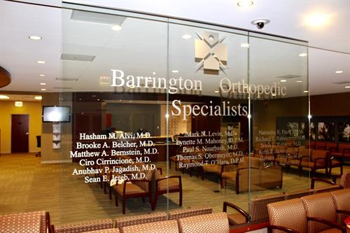Barrington Orthopedic Specialists - Schaumburg; Multi-faceted care in one location