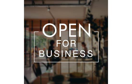 OPEN FOR BUSINESS AMID COVID-19