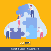 Connext Lunch & Learn: The Top Ten Ways to Show Up, Manage Up, and Move Up Without Cracking Up
