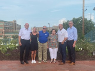 Dedication of BMA Memorial Garden