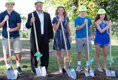 Ground Breaking of Safety Demonstration House