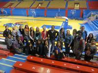 Seniors touring KU