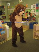 Happy Bear teaches young children personal safety