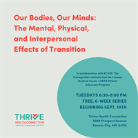Thrive Health Connection announces innovative program for transgender individuals in Kansas City area