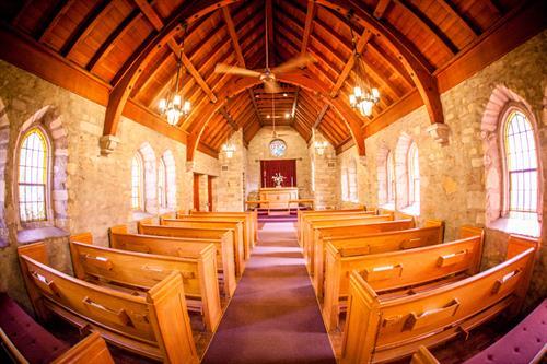 Pilgrim Chapel interior