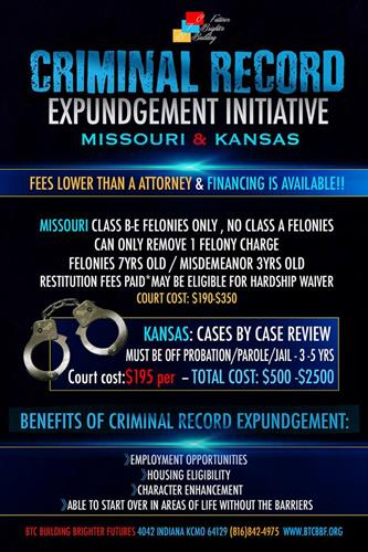 Legal Advocacy and Expungement Initiative