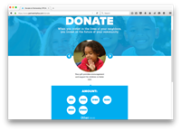 Online Giving- Create and customize powerful online giving forms that can be embedded on your nonprofit's website. Constituent records are automatically created or updated after every form completion.