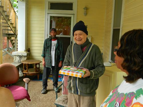 2017 Senior Companion Veterans Outreach honoring Home-delivered meals client who is a veteran