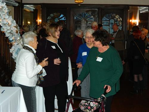 2018 Volunteer Appreciation Holiday party at Simpson House