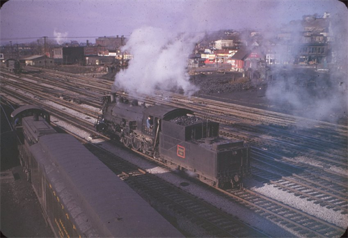 Locomotive in the West Bottoms, 1970s