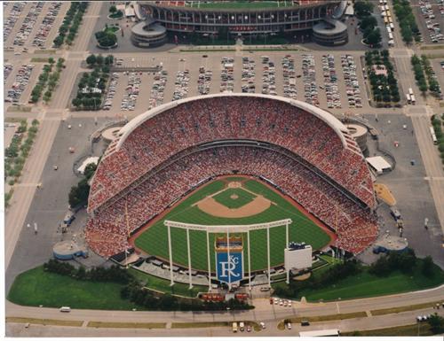 Royals Stadium on Grand Opening Day