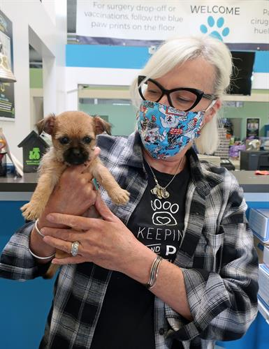 Our organization is committed to being a safe and trusted resource for our community to ensure that no one is denied the love of an animal due to limited resources