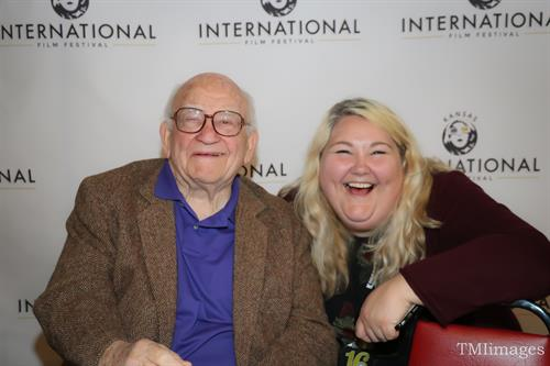 Mr. Ed Asner & KIFF Executive Director, Stacy Rich