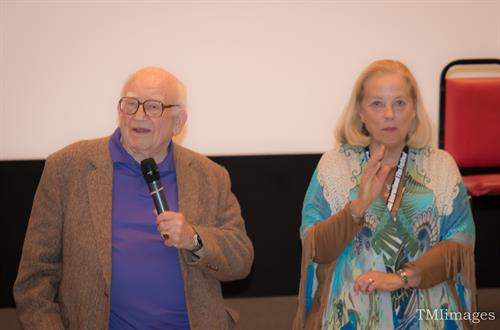 Mr. Ed Asner & Sharon Baker, Director of My Friend Ed
