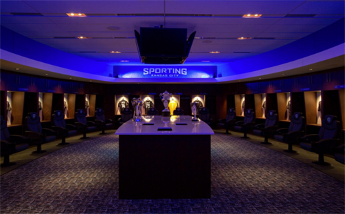 Sporting Locker Room