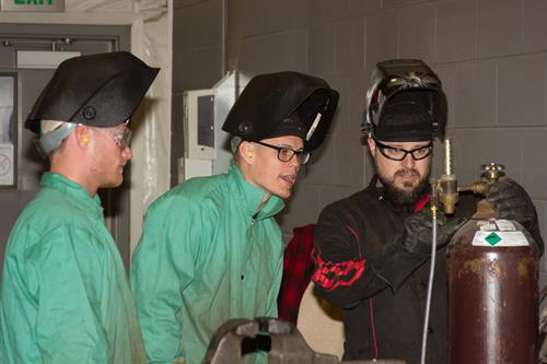 Cultivate Inc. Welders in the Shop Welding Program