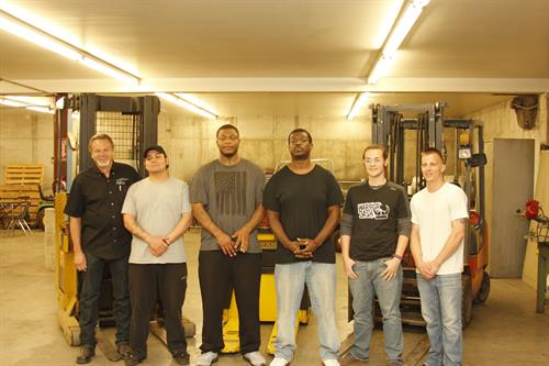 Cultivate Inc. College of Trades KCKCC Forklift Class, 2017