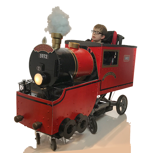 Hogwarts Express Wheelchair Costume