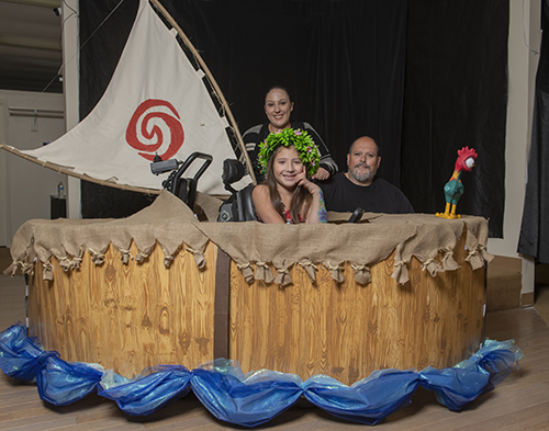 Moana's Boat Wheelchair Costume