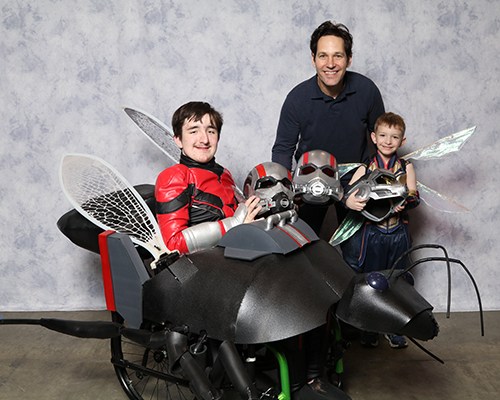 Ant-Man Wheelchair Costume