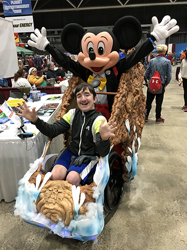 Splash Mountain Wheelchair Costume