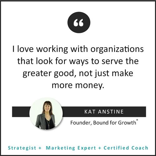Kat Anstine Quote