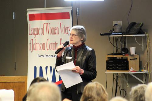 LWVJoCo hosts meetings throughout the year on an array of topics important to the Kansas City region.