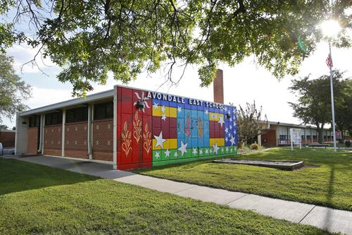 Located in the former Avondale East Elementary School