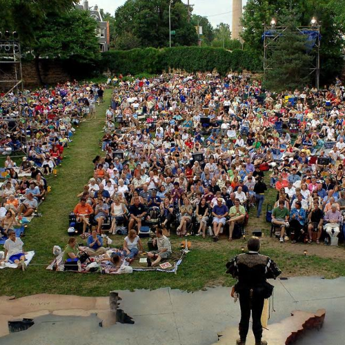 Thousands of audience members make their way to Southmoreland Park every summer to enjoy Shakespeare under the stars.