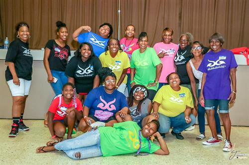 Our AWESOME volunteers at our 1st Bra Giveaway.