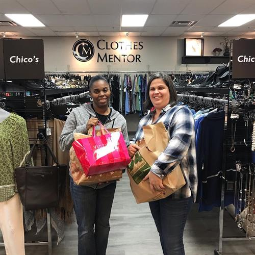 Anne...an amazing manager at our drop-off location: Clothes Mentor in Overland Park, KS