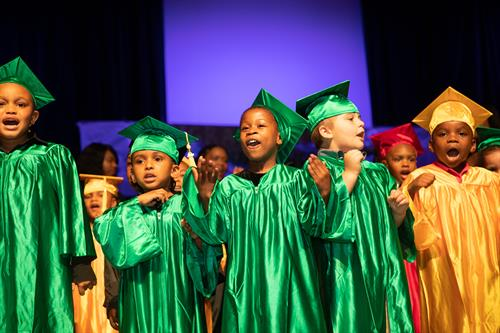 Student graduation to kindergarten always bring about excitement for UICS students!