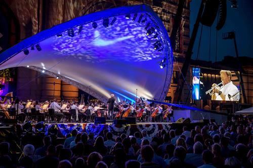Kansas City Symphony at Bank of America Celebration at the Station
