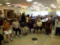 Chair Dancing with Myron at the Don Bosco Senior Center