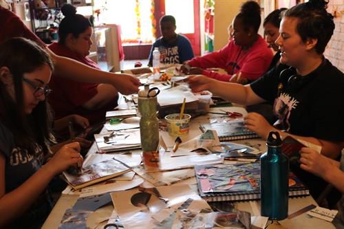 Summer Art Camp at Mattie Rhodes Art Center
