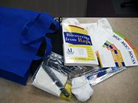 Assault Survivor Kits from the Assistance League of Kansas City contain printed references, a change of clothes, and toiletries. Victims' clothing is often taken as evidence, so a change of clothing can be so important.
