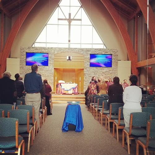 Chapel Service in Wesley Chapel - Kansas Campus
