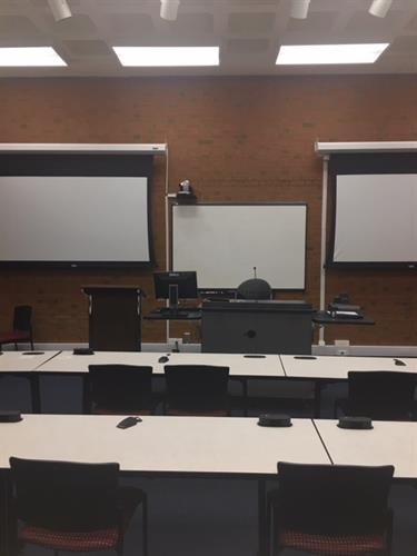 Classroom on Oklahoma Campus